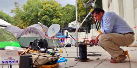 Internet satelital gratuito en Parque México; además, los operadores siguen apoyando con servicios sin costo