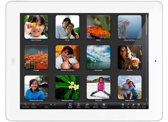 iPhoto para iPad