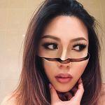 La ilusión óptica a través del maquillaje no tiene misterio para esta instagramer