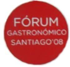 """I Fórum Gastronómico Santiago08, """"As cociñas do Atlántico"""""""