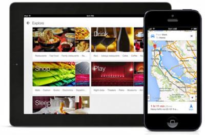 Los usuarios de iPad ya tienen versión específica de Google Maps