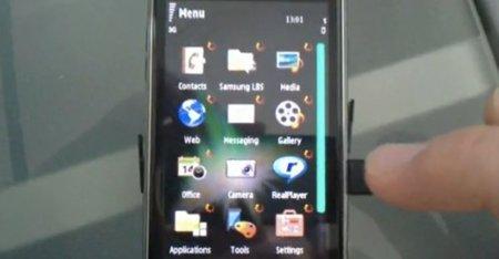Demostración de multitarea en Symbian, 62 aplicaciones en ejecución a la vez