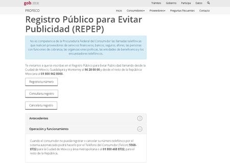 Repep Profeco Mexico