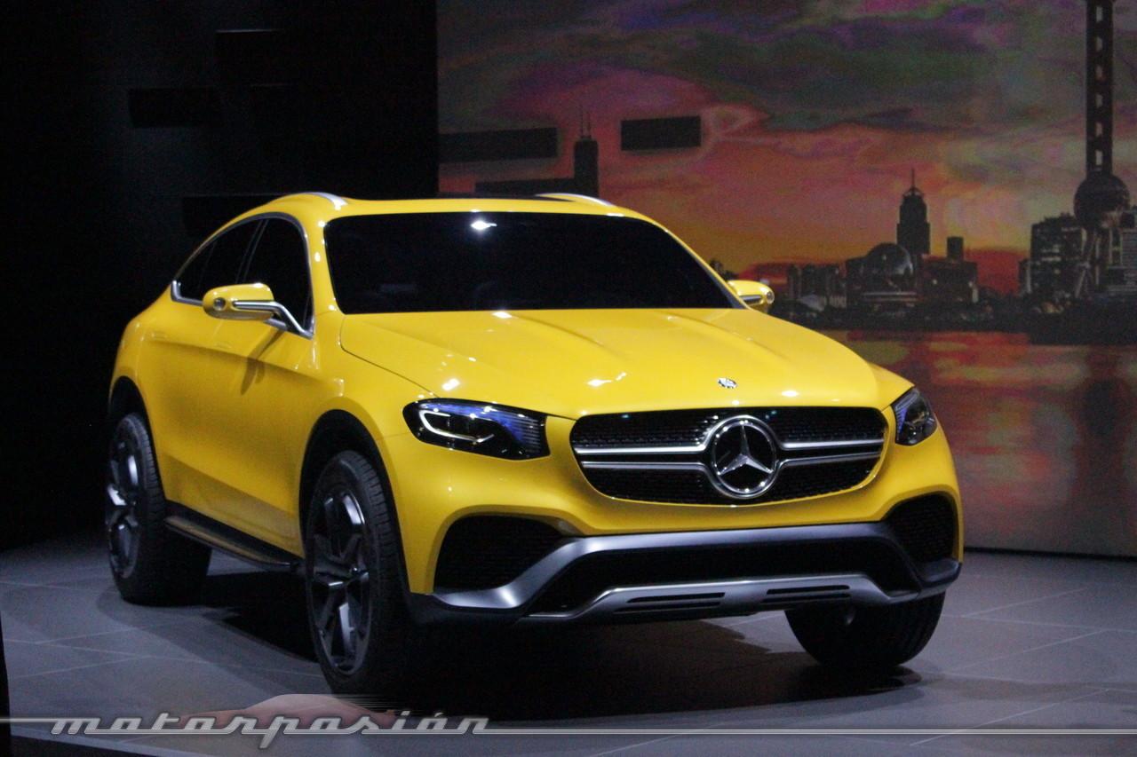 Foto de Mercedes-Benz Concept GLC Coupé (Premiere en Shangai) (13/26)