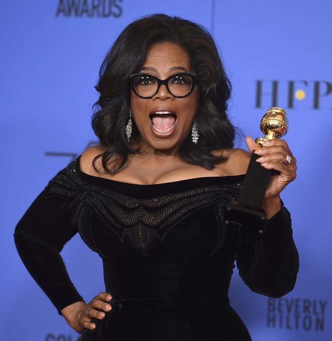 Discurso Oprah Globos Oro