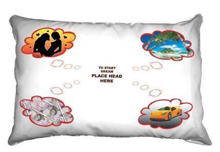 La almohada de tus felices sueños