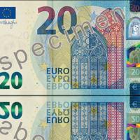Los comercios de la zona euro recibirán próximamente información sobre el nuevo billete de 20 euros
