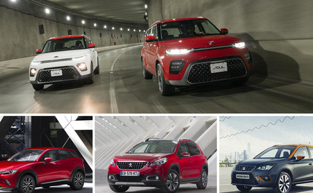 KIA Soul 2020 vs. SEAT Arona, Mazda CX-3 y Peugeot 2008: los B-SUV en batalla de estilo