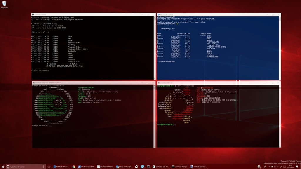 Linux gana aún más enteros en WSL 2: apps con interfaz gráfica, kernel propio y escrituras en disco a toda pastilla