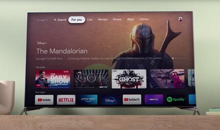Google TV permitirá establecer perfiles para crear recomendaciones personalizadas y adaptar la pantalla de inicio a cada usuario