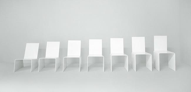 Foto de 7 Chairs, la metamorfosis de una silla según Jan van Borstel (1/7)