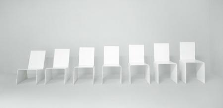 7 Chairs, la metamorfosis de una silla según Jan van Borstel
