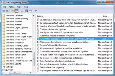 Turn Off Latest Windows Version Upgrade Windows 7