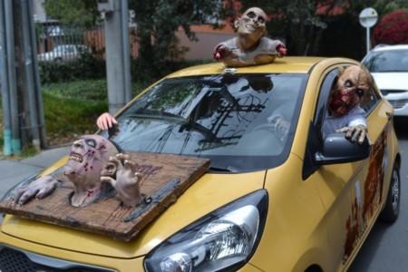 Easy Taxi pondrá a rodar sus vehículos zombies este 31 de octubre