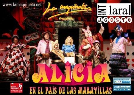 """""""Alicia en el país de las maravillas"""", espectáculo musical en Madrid"""