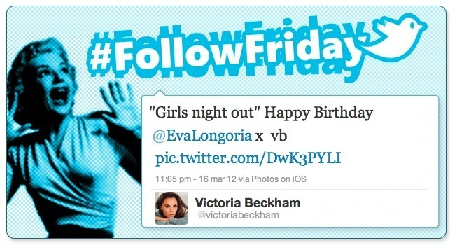 follow friday victoria beckham
