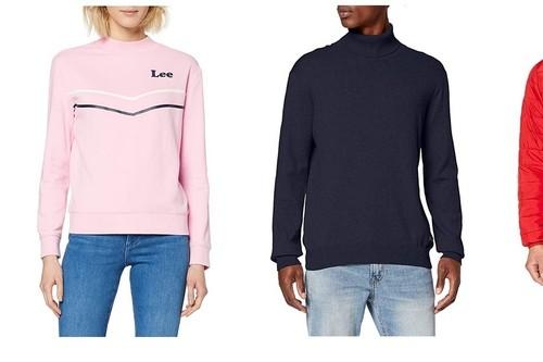 Chollos en tallas sueltas de vestidos, chaquetas y camisetas de marcas como Pepe Jeans, Lee o Desigual en Amazon