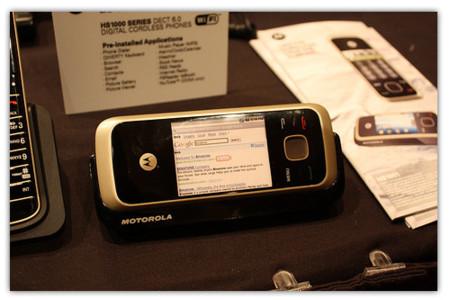 Motorola HS1001, teléfono inalambrico con Android