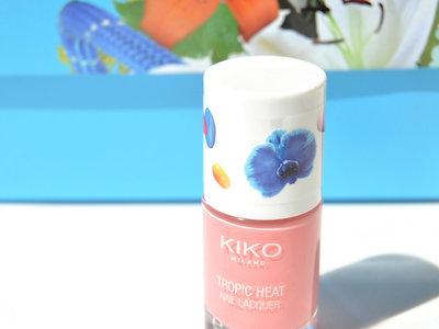 El esmalte rosa ideal para la primavera se llama 'Tropic Heat' y es de Kiko: lo probamos