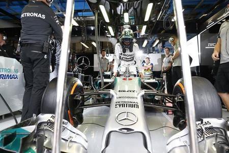 Dominio de Mercedes en los primeros entrenamientos libres de Suzuka