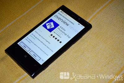 Adobe Photoshop Express también da el salto a Windows Phone