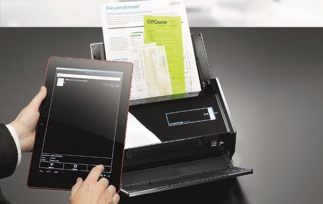 Fujitsu ScanSnap iX500, el escaner pensado para usar desde tablets y smartphones