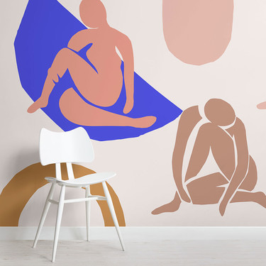 """Los """"Desnudos Azules"""" de Matisse inspiran esta nueva colección de papel pintado"""