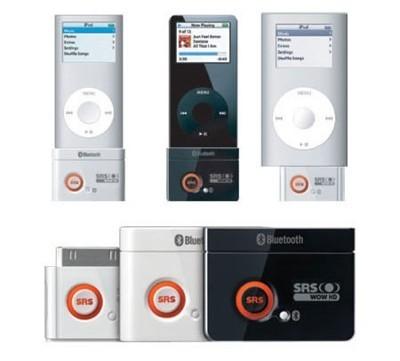 Slaudiolab SRS-200BG, adaptador Bluetooth para iPod
