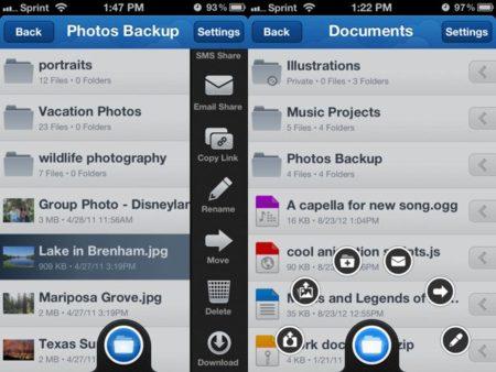 MediaFire iOS app