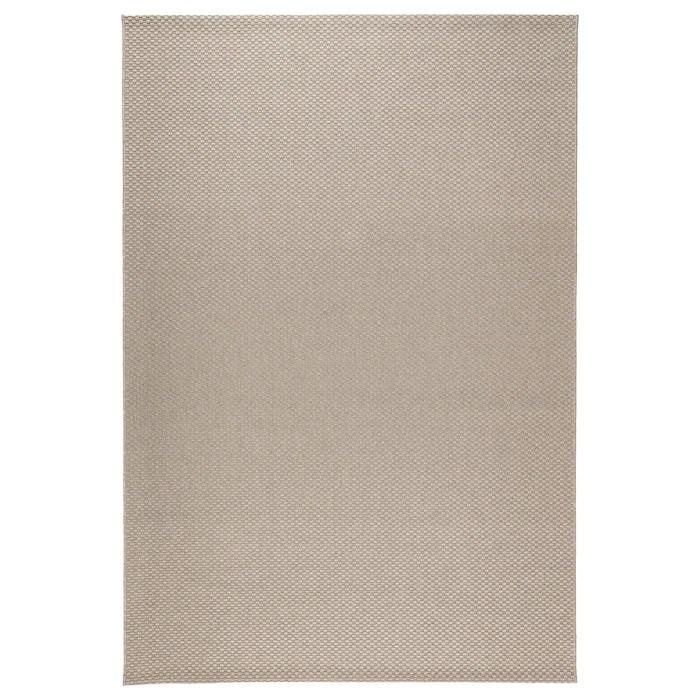 MORUM Alfombra int/exterior, beige160x230 cm