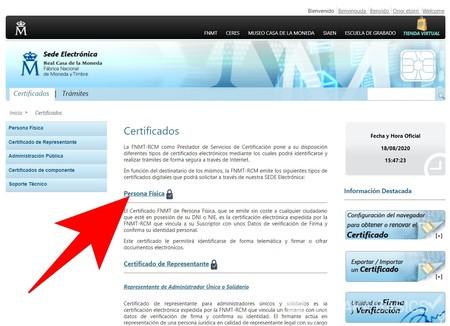 Certificado Web