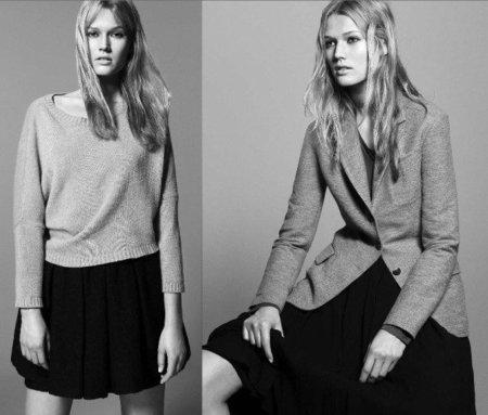 Zara, catálogo Otoño-Invierno 2010/2011. Falda
