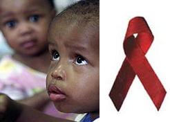 Los problemas de los niños con sida