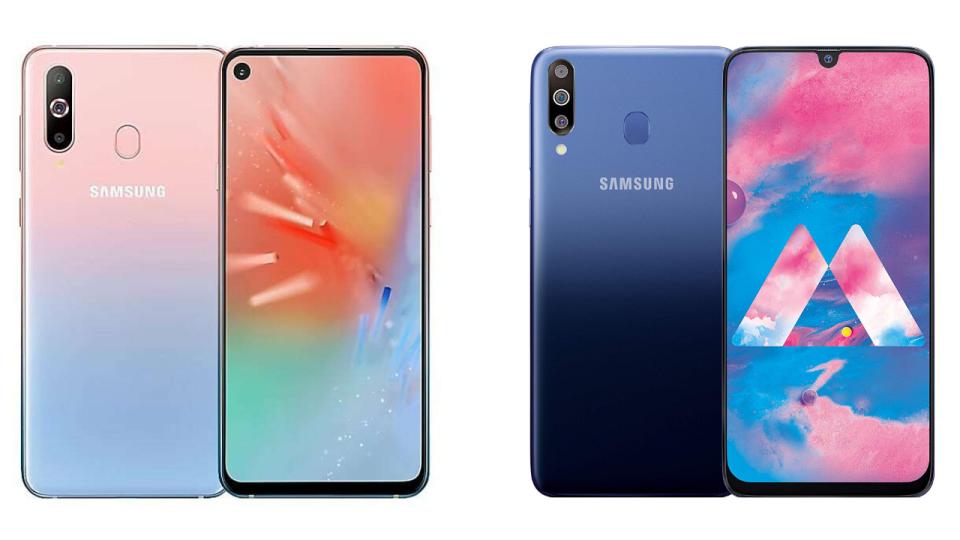 Nuevos Samsung Galaxy A60 y A40s: cámaras triples para todos y una pantalla perforada que hace las veces de altavoz