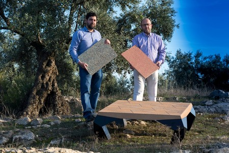 Paninos, marca española de muebles fabricados con huesos de aceituna, se presentará en Maison&Objet