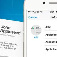 Business Card Reader, del papel a la agenda de contactos de tu iPhone en dos pasos