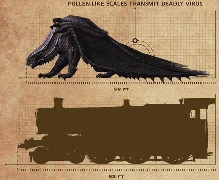 Imagen de la semana: el sobrecogedor tamaño de las bestias de Monster Hunter 4 Ultimate