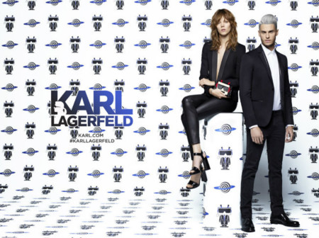 Karl Lagerfeld 2016 Spring Summer Campaign Baptiste Giabiconi 004
