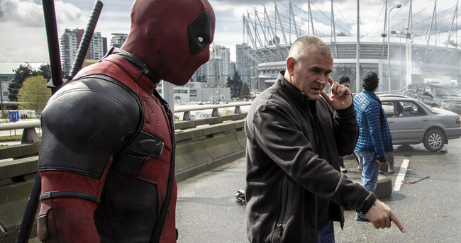 Tim Miller con Deadpool