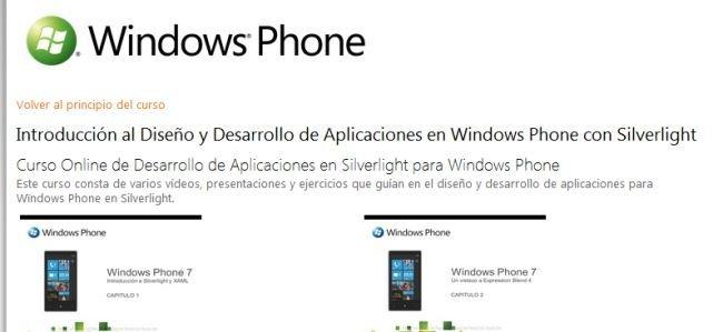 Curso Online Windows Phone Gratis
