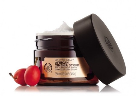 Exfoliante Corporal De Ximenia De Africa De The Body Shop