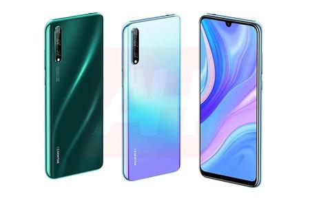 El Huawei P Smart 2020 se ha filtrado con una pantalla OLED y triple cámara trasera
