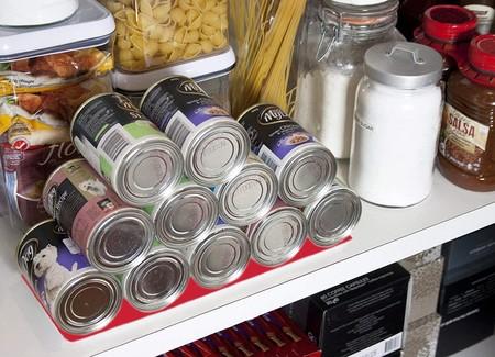 Sistema para almacenar latas