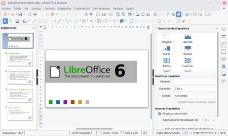 Libre Ofice Impress Presentaciones Diapositivas