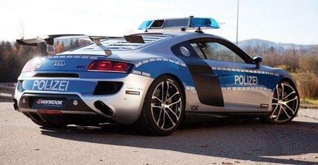 ABT R8 GT R Police Car, un patrullero en Essen