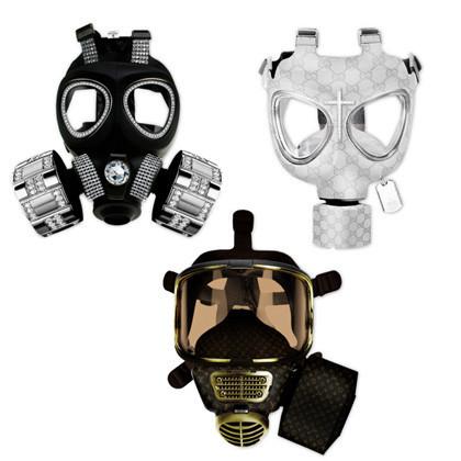 Máscaras de gas fashion