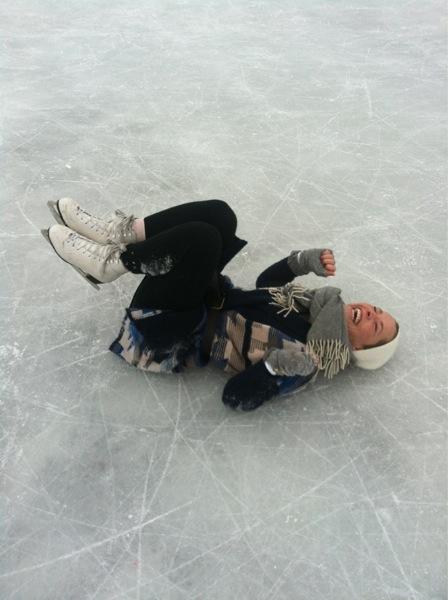 soraya patinaje sobre hielo