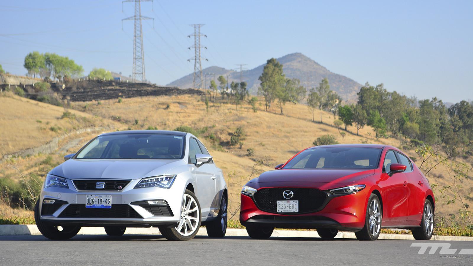 Foto de Mazda 3 vs. SEAT León (comparativa) (1/28)