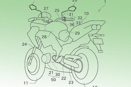 Una revolucionaria Kawasaki híbrida con KERS podría estar cerca de hacerse realidad, según estas patentes