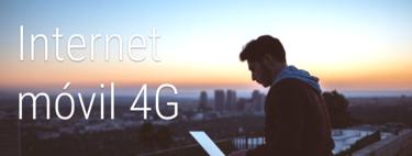 Internet móvil 4G como alternativa al ADSL o fibra: así quedan las mejores tarifas
